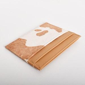 Hide & Vegan Leather Card Holder