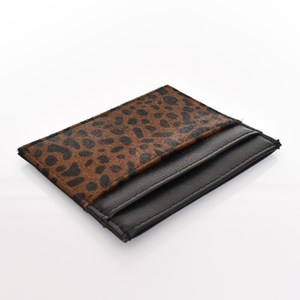Hide & Vegan Leather Card Holder