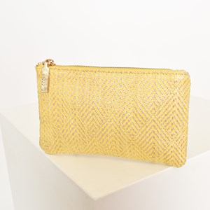 Clean Weave Zip Top Pouch