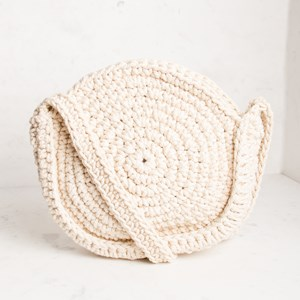 Crochet Round Boho Cross Body Bag