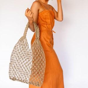 Loop Weave Open Market Bag