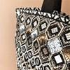 Earthy Mirrors & Beads Tote Bag - pr_62449