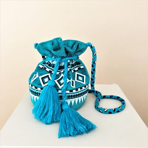 Marrakech Tassel Drawstring Bucket Bag