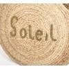 Soleil Beaded Natural Weave Basket - pr_68110