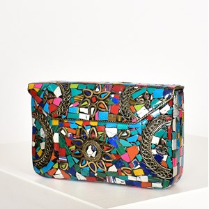 Morocco Mosaic Structured Bag