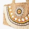 Shell Fringe Weave Small Bag - pr_72697