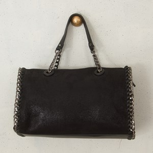 Chain Edge Aged Handbag