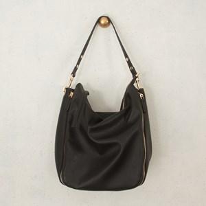 Four Zip Shoulder Bag