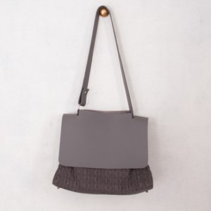 Knitted Adjustable Strap Handbag