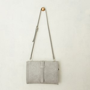 Dot Cutout Satchel