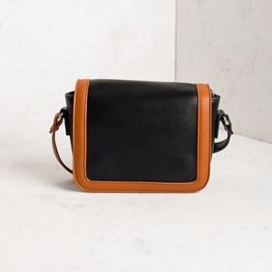 Two Tone Mini Shoulder Bag