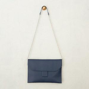 Flapover Belt Front Detail Cross Body Bag