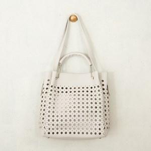 Circle Cutout Handbag
