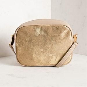 Hide & Suede Camera Bag