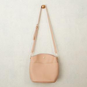 Double Pocket Front Bucket Bag