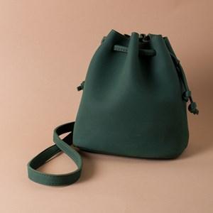 Bohemian Faux Suede Tassel Bucket Bag