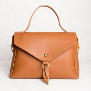Flap Over Sleek Messenger Bag