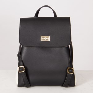 Two Tone Fold Over Back Pack