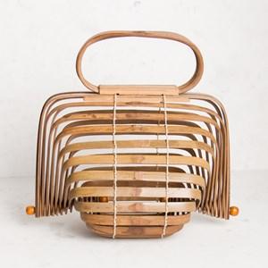 Concertina Bamboo Mini Bag