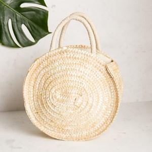 Multi Stitch Circle Mini Basket