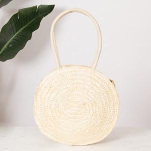 Mutli Stitch Circle Shoulder Basket