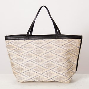 Unstructured Pattern Tote