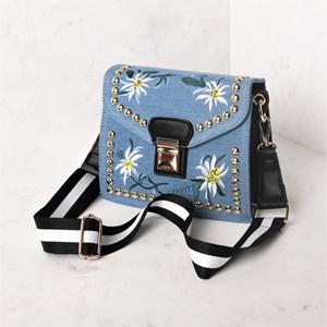 Accordion Statement Mini Shoulder Bag