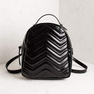 Chevron Stitch Back Pack