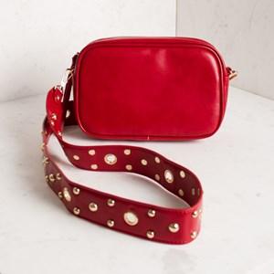 Wide Shoulder Strap Eyelet & Stud Camera Bag