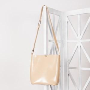 Ring Handle Detail Small Bucket Bag