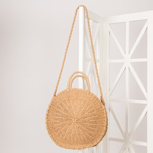 Weave Round Handle Basket