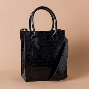 Reptile Mini Rectangle Top Handle Bag