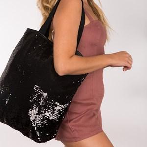 Sequin Shopper Hand Bag