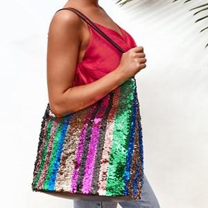 Glitter Gang Slouch Bucket Bag