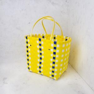 Market Party Weave Basket Bag