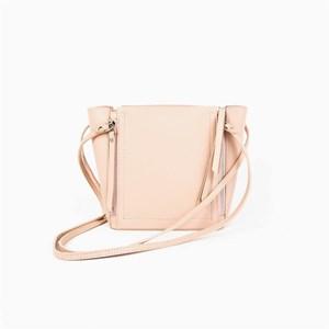 Long Handle Zip Detail Handbag