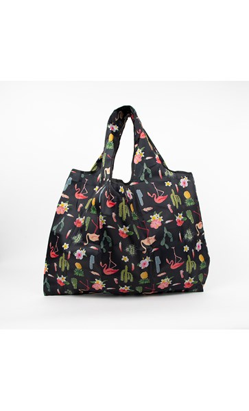 Palm Springs Cactus Print Medium Shopper Bag