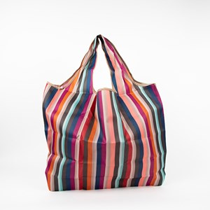 Candy Stripe Medium Shopper Bag