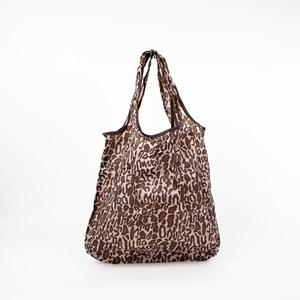 Leopard Print Small Shopper Bag