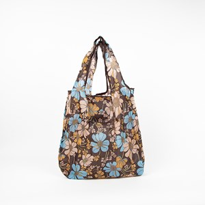 Seventies Floral Print Small Shopper Bag