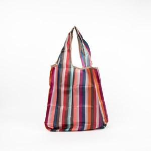 Candy Stripe Small Shopper Bag