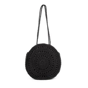 Crochet Round Weekend Tote Bag