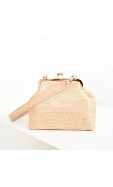 Weave Purse Top Handbag