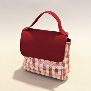 Picnic Weave Vegan Suede Mini Bag