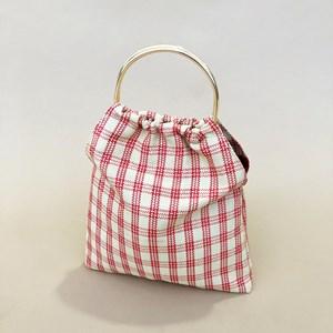 Picnic Weave Metal Ring Market Bag