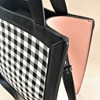 Check Panelled Tote Bag - pr_60733