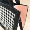 Check Panelled Tote Bag - pr_60733