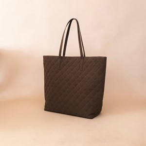 6b7ced26ae Vegan Suede Quilted Tote
