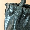 Embossed Croc Drawstring Bag - pr_62452