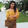 Animal Print Faux Fur Mini Handbag - pr_62003